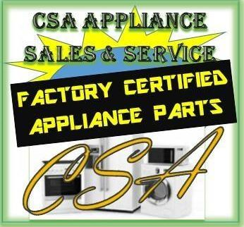 CSA Appliance Sales & Service – Appliance Repair Service In Dallas / Ft. Worth TX